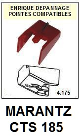 MARANTZ<br> CTS185 CTS-185 Pointe Diamant sphérique <BR><small>a 2015-08</small>