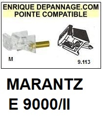 MARANTZ-E9000/II-POINTES-DE-LECTURE-DIAMANTS-SAPHIRS-COMPATIBLES
