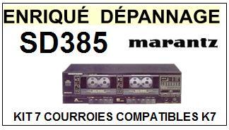 MARANTZ-SD385-COURROIES-ET-KITS-COURROIES-COMPATIBLES