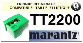 MARANTZ TT2200 <bR>Pointe diamant elliptique pour tourne-disques (stylus)<SMALL> 2015-11</small>