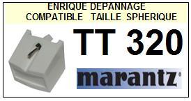 MARANTZ<br> TT320  Pointe (stylus)  sphérique pour tourne-disques <BR><small> 2015-07</small>