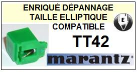 MARANTZ TT42 <br>Pointe elliptique pour tourne-disques (<b>elleptical stylus</b>)<smal> 2016-01</small>