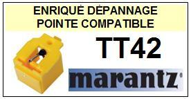 MARANTZ  TT42 <br>Pointe diamant sphérique pour tourne-disques (stylus)<small> 2015-12</small>