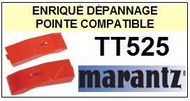 MARANTZ TT525  <br>Pointe diamant sphérique pour tourne-disques (stylus)<SMALL> 2015-11</SMALL>