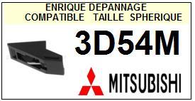 MITSUBISHI 3D54M <br>Pointe Diamant sphérique (stylus)<small> 2015-11</small>