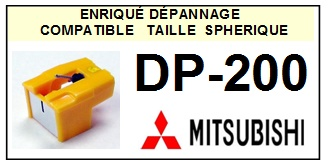 MITSUBISHI DP200 DP-200 <br>Pointe Diamant sphérique (stylus)<small> 2015-12</small>