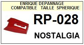 NOSTALGIA<br> RP028 RP-028 Pointe (stylus) diamant sphérique<small> 2015-09</small>