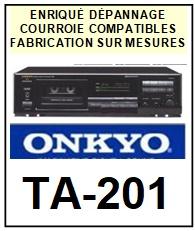 ONKYO-TA201 TA-201-COURROIES-ET-KITS-COURROIES-COMPATIBLES