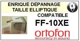 ORTOFON FF10XE FF-10XE <br>Pointe Diamant <b>Elliptique</b> (stylus)<small> 2016-01</small>