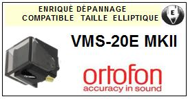 ORTOFON VMS20EMKII VMS-20E MKII <br>Pointe Diamant Elliptique (stylus)<small> 2015-11</small>