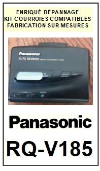 PANASONIC-RQV185 RV-Q185-COURROIES-ET-KITS-COURROIES-COMPATIBLES