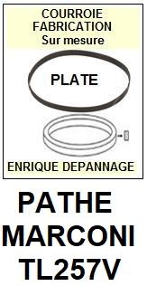 PATHE MARCONI-TL257V-COURROIES-ET-KITS-COURROIES-COMPATIBLES