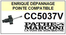 PATHE MARCONI CC5037V <br>Pointe diamant sphérique pour tourne-disques (stylus)<SMALL> 2015-12</SMALL>