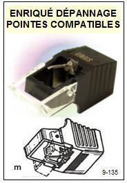 BRANDT Platine  CRK8089  CRK-8089  Pointe de lecture Compatible diamant sphérique