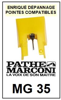 PATHE MARCONI-MG35 MG 35-POINTES-DE-LECTURE-DIAMANTS-SAPHIRS-COMPATIBLES