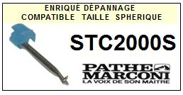PATHE MARCONI<br> STC2000S  Pointe (stylus) Diamant sphérique <small>2015-09</small>