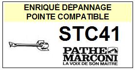 PATHE MARCONI-STC41 STC-41-POINTES-DE-LECTURE-DIAMANTS-SAPHIRS-COMPATIBLES