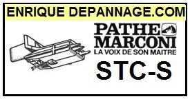 PATHE MARCONI  STCS  STC-S  Cellule de remplacement  avec Saphir Sphérique
