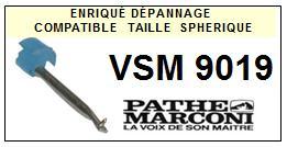 PATHE MARCONI<br> VSM9019 Pointe (stylus) sphérique pour tourne-disques<SMALL> 2015-09</SMALL>