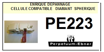 PERPETUUM EBNER<br> PE223  Cellule diamant Sphérique (<B>cartridge</B>)<small> 2016-02</small>