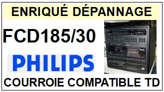 PHILIPS-FCD185-30-COURROIES-ET-KITS-COURROIES-COMPATIBLES
