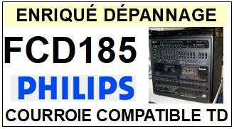 PHILIPS-FCD185-COURROIES-ET-KITS-COURROIES-COMPATIBLES