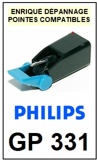 PHILIPS-GP331-POINTES-DE-LECTURE-DIAMANTS-SAPHIRS-COMPATIBLES