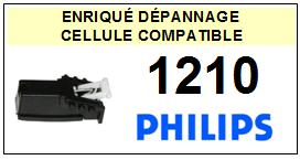 PHILIPS platine 1210  Cellule diamant sphérique <BR><SMALL>a 2014-03</small>