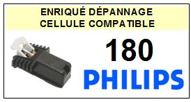 PHILIPS platine 180  Cellule diamant sphérique <SMALL> 13-09</small>