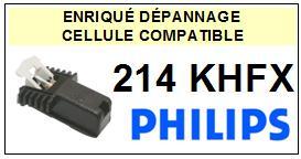 PHILIPS 214KHFX 214-KHFX Cellule avec diamant Sphérique <small>13-11</small>
