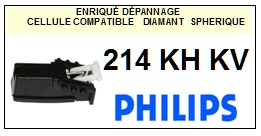 PHILIPS 214KHKV 214 KHKV <BR>Cellule diamant Sphérique (<B>cartridge</B>)<small> 2016-11</small>