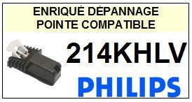 PHILIPS  214KHLV    Cellule de remplacement  avec diamant Sphérique
