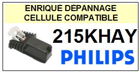 PHILIPS platine 215KHAY  Cellule diamant sphérique <SMALL> 13-07</small>
