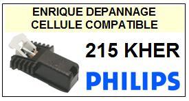 PHILIPS <br>215KHER  Cellule avec diamant Sphérique <BR><small>a 2014-10</small>