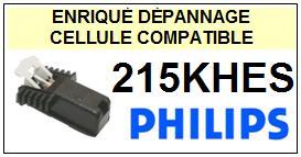 PHILIPS  215KHES  215 KHES  Cellule de remplacement  avec diamant Sphérique