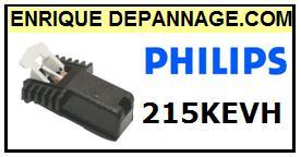 PHILIPS 215KHEV cellule remplacement Diamant Sphérique