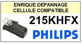PHILIPS  215KHFX    Cellule de remplacement  avec diamant Sphérique
