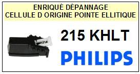 PHILIPS 215KHLT 215-KHLT Cellule avec diamant Sphérique <BR><small>a 2014-07</small>
