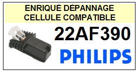 PHILIPS platine  22AF390    Cellule Compatible diamant sphérique
