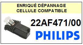 PHILIPS platine 22AF471/00  Cellule diamant sphérique <SMALL> 13-09</small>