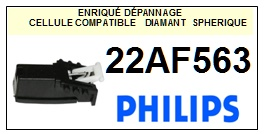 PHILIPS 22AF563  <BR>Cellule  pour tourne-disques (<B>cartridge</B>)<SMALL> 2017-01</small>