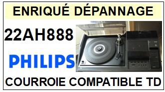 PHILIPS-22AH888-COURROIES-ET-KITS-COURROIES-COMPATIBLES