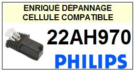 PHILIPS 22AH970  <BR>Cellule  pour tourne-disques (<B>cartridge</B>)<SMALL> mars_2017</small>
