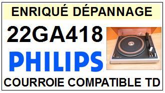 PHILIPS-22GA418-COURROIES-ET-KITS-COURROIES-COMPATIBLES