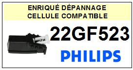 PHILIPS platine 22GF523  Cellule diamant sphérique <BR><SMALL>a 2014-03</small>