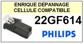 PHILIPS<br> 22GF614  Cellule (cartridge) pour tourne-disques <BR><SMALL>a 2015-07</small>