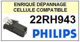 PHILIPS platine 22RH943  Cellule diamant sphérique <SMALL>13-11</small>