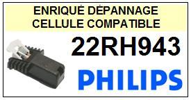 PHILIPS platine 22RH943  Cellule diamant sphérique <SMALL>13-11</small>