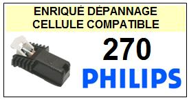 PHILIPS platine 270  Cellule diamant sphérique <SMALL> 13-07</small>