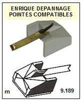 PHILIPS<br> 406 AUTOMATIC Pointe (stylus) sphérique pour tourne-disques <BR><small>sc 2015-08</small>